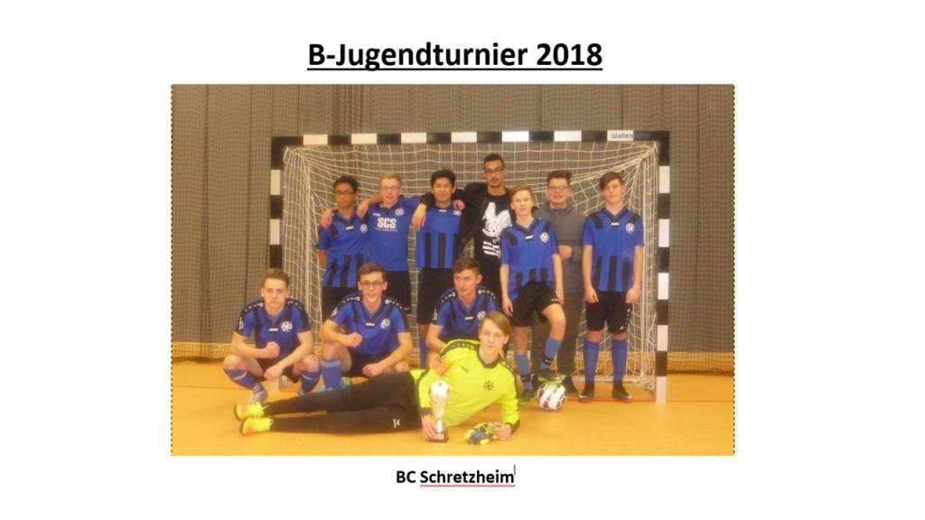 Sieger B-Jugendturnier 2018