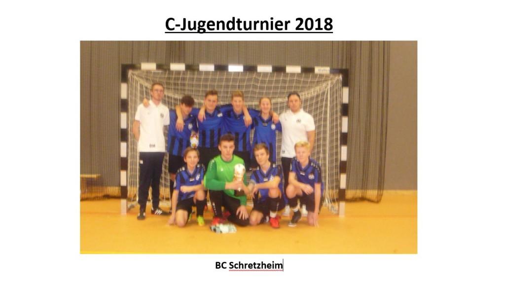 Sieger C-Jugendturnier 2018