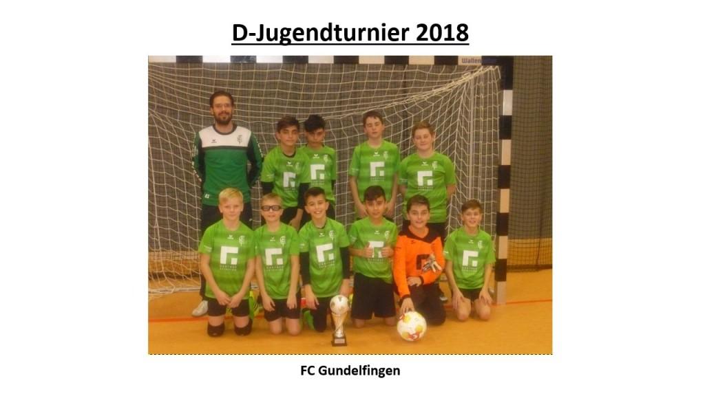 Sieger D-Jugendturnier 2018