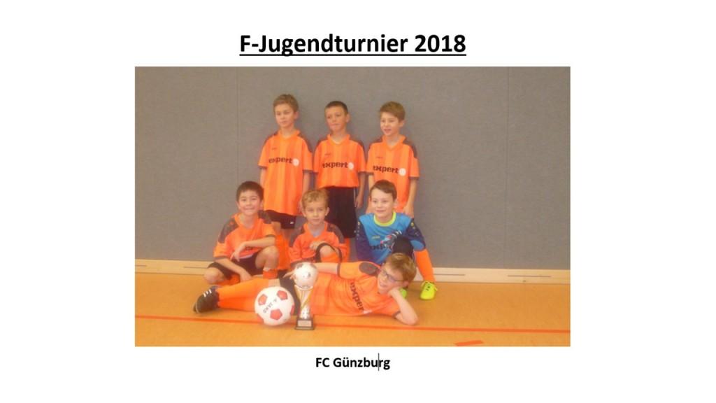 Sieger F-Jugendturnier 2018
