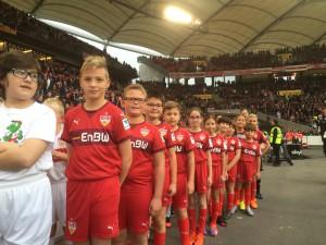 E-Jugend beim VfB Stuttgart